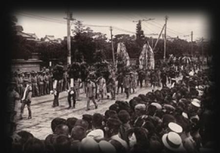 乃木大将夫妻の葬儀の様子